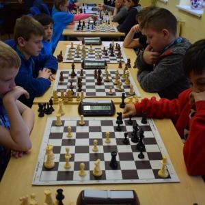 Okresní kolo Přeboru škol v šachu - výsledky a galerie