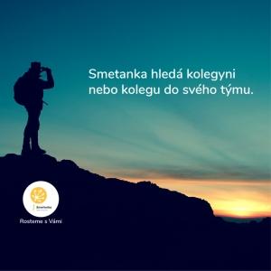SMETANKA HLEDÁ KOLEGYNI, NEBO KOLEGU - Pedagog volného času